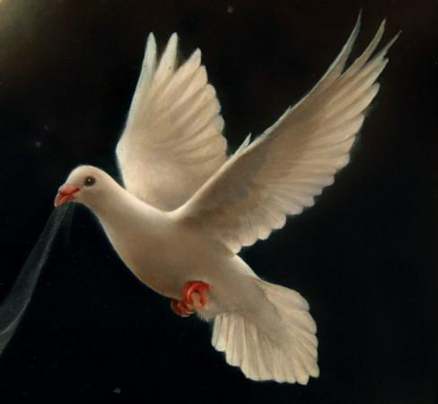"""""""Biały gołąb"""" , deta 6"""