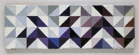"""Krzysztof Wróblewski, """"Fragment"""", 2015, olej na płótnie, 20x60 cm"""