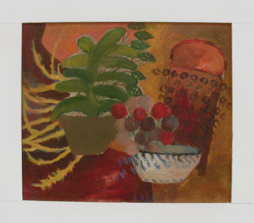 """8 Yolanty Nikt """" Martwa Natura"""", 2010, olej na płótnie, wymiary 60x70 cm"""