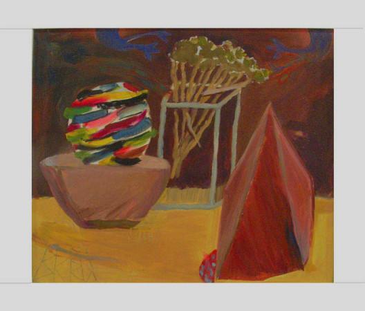 """10 Yolanty Nikt """"Martwa Natura"""", 2010, olej na płótnie, wymiary 60x70 cm"""