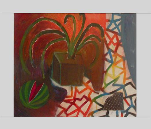 """11 Yolanty Nikt """"Martwa Natura"""", olej na płótnie, wymiary 60x70 cm"""