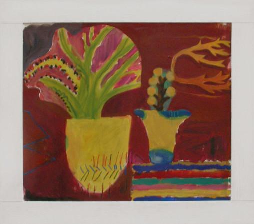 """12 Yolanty Nikt """"Martwa Natura"""", 2010, olej na płótnie, wymiary 60x70 cm"""