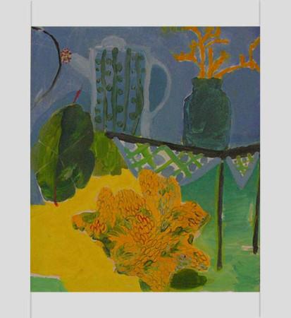 """5 Yolanty Nikt """"Martwa Natura"""", 2011, olej na płótnie, wymiary 70x60 cm"""