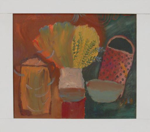 """6 Yolanty Nikt """"Martwa Natura"""", 2010, olej na płótnie, wymiary 60x70 cm"""