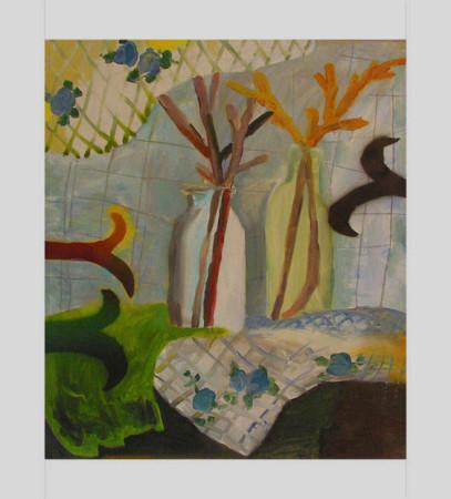"""7 Yolanty Nikt """"Martwa Natura"""", 2011, olej na płótnie, wymiary 70x60 cm"""