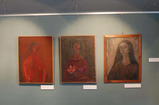 Indywidualana Wystawa Barbary Jonscher w Muzeum Sląska Opolskiego, 2011, z ekspozycją przedstawianych obrazów
