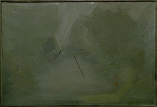 """Barbara Jonscher """"Wisław W Kazimierzu"""", 1975, olej na płótnie, wymiary 80x120 cm"""