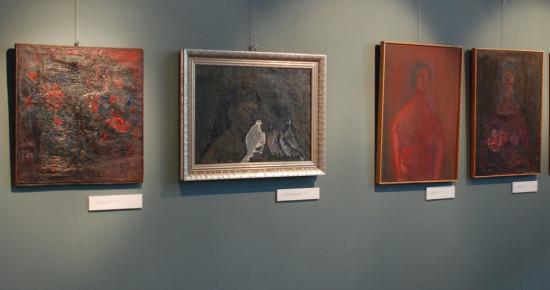 Indywidualana Wystawa Barbary Jonscher w Muzeum Sląska Opolskiego, 2011, z ekspozycją oferowanych obrazów